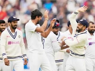लॉर्ड्स पर विराट जीत:भारत 151 रन से जीता; इंग्लैंड की दूसरी पारी 120 रन पर सिमटी, सिराज ने 4 विकेट झटके | #NayaSaberaNetwork