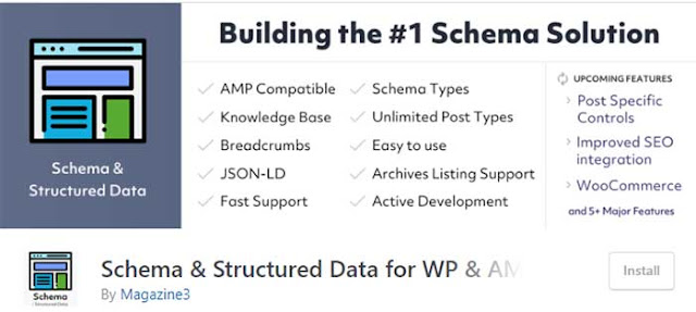 Schema and Structured Data for WP & AMP: 6 Best Schema Markup Plugins for WordPress to Create Rich Snippets: eAskme
