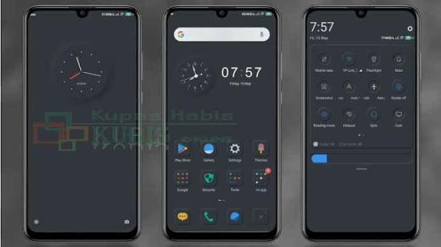 Download Tema Xiaomi MIUI 11 Dark Mode Mtz Tembus Aplikasi Terbaru 2021