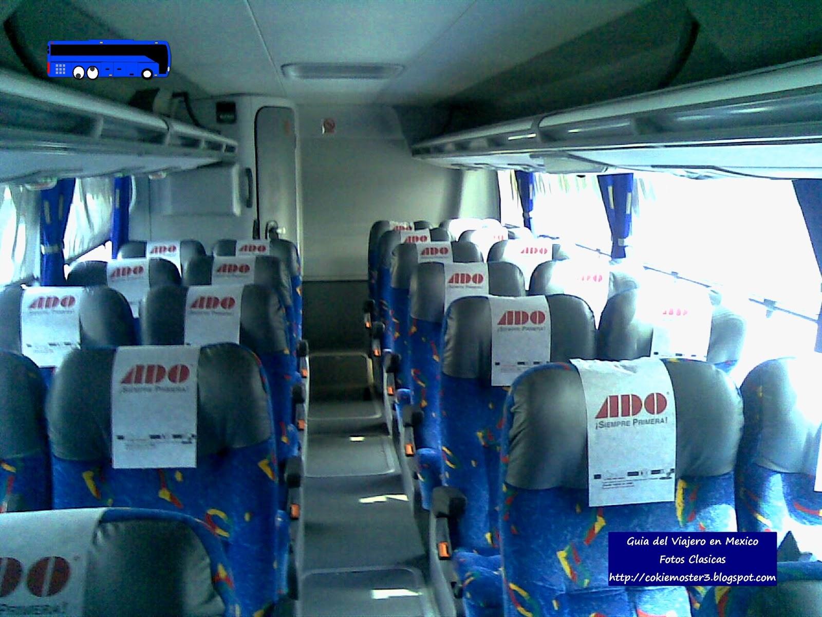 Gua del Viajero en Mxico Tipos de servicio en Autobus