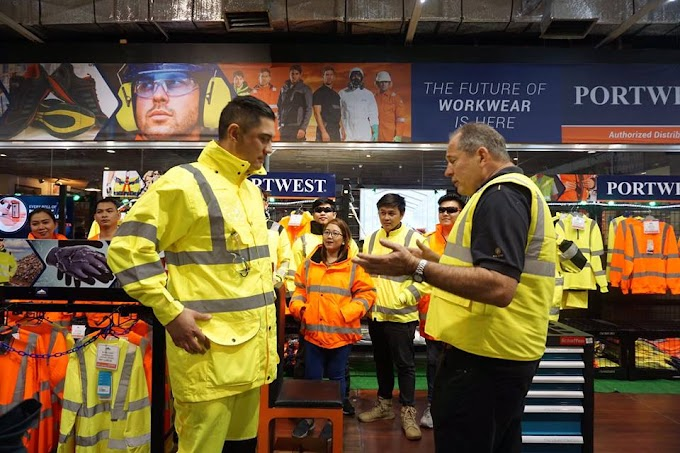 HMR Partners with Portwest To Promote Workplace Safety