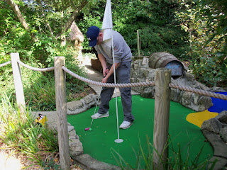 Pirate Adventure Mini Golf at the Weymouth Sea Life Centre at Lodmoor Country Park
