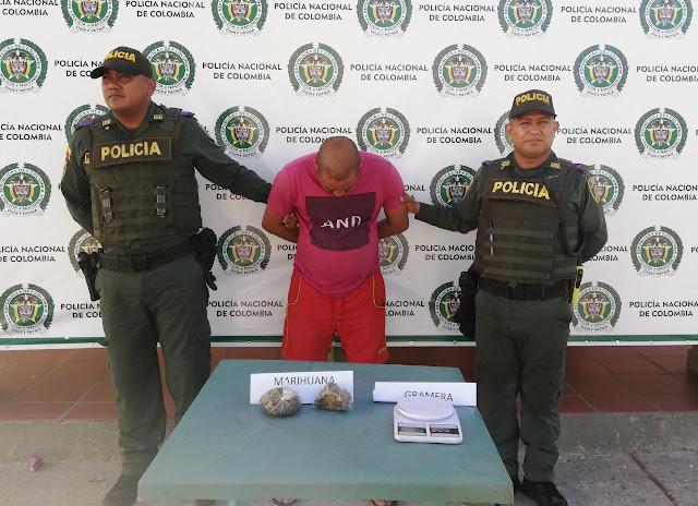 Otro expendedor de drogas capturado en Maicao
