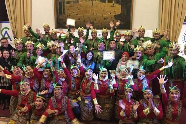 Septo Simanjuntak Konduktor Terbaik di Festival Internazionale Chorus Inside Advent ke-34 Roma