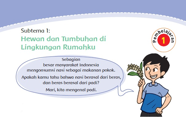 Materi dan Kunci Jawaban Tematik Kelas  Materi dan Kunci Jawaban Tematik Kelas 4 Tema 3 Subtema 1 Halaman 2, 3, 4, 5, 6