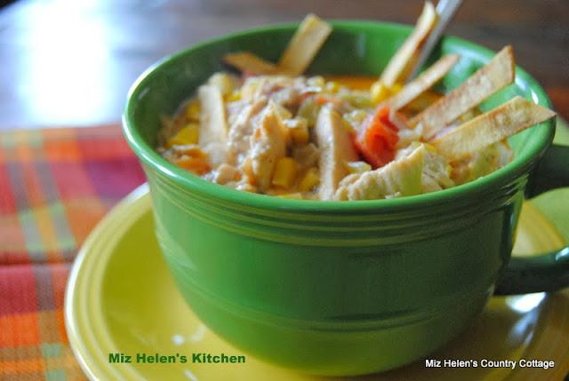 Southwest Chicken Soup at Miz Helen's Country Cottage
