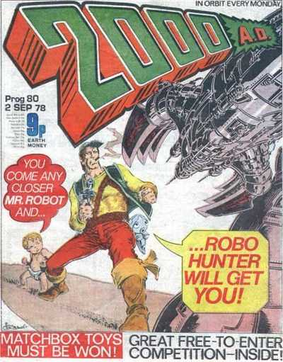 2000AD Prog 80, Robo-Hunter