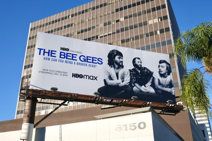 Bee Gees HBO documentary billboard