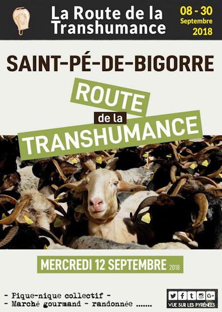 Route de la Transhumance Saint-Pé de Bigorre 2018