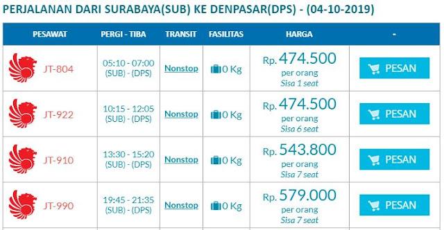 Promo Tiket Hanya di Wisesa Travel