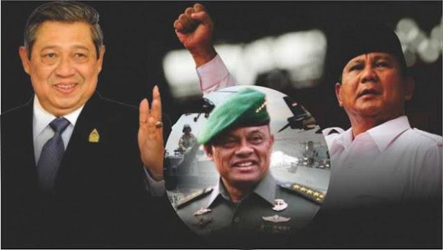 SBY, Prabowo, dan Gatot Bersatu