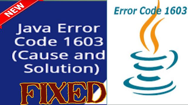 error 1603 java,How do I fix Java error 1603?,What is the error code 1603?, Error code 1603,1603 error Autodesk, Java error Code 1603 offline installer,Java error Code 1603 Windows 10,