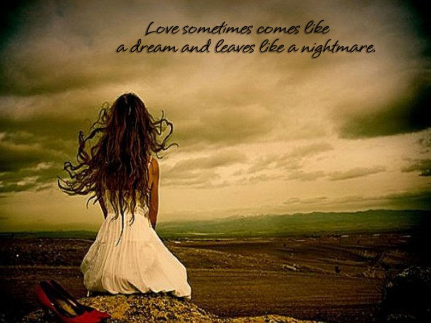 γιατ' η α... Quote About Love Lost