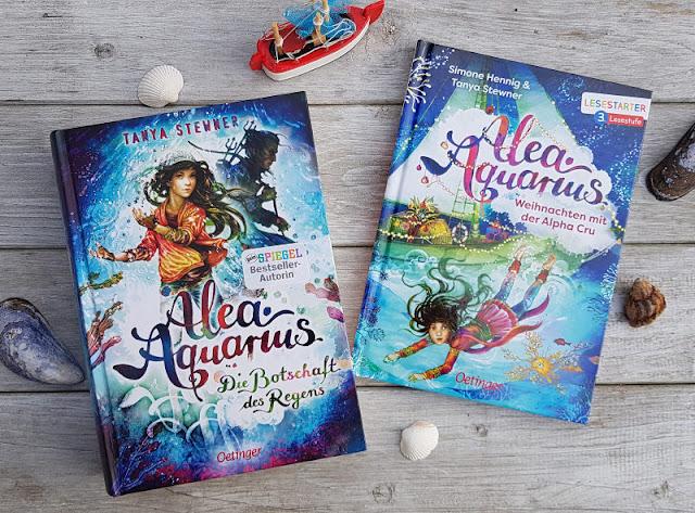 Alea Aquarius: Phantastische Kinderbücher vom Meer für kleine und große Leser. Ich stelle Euch den neuen Band 5 der Reihe für Kinder und Jugendliche ab 10 ebenso wie die Erstlese-Bücher für Leseanfänger ab 8 Jahren auf Küstenkidsunterwegs vor und erzähle Euch, was uns Küstenkindern besonders daran gefällt.