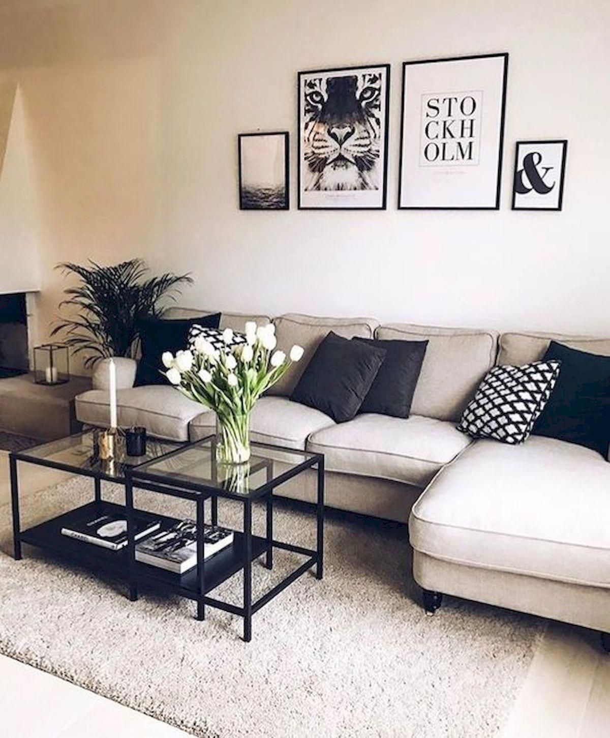 inspirational modern living room decor idea for small apartment you will like it 3