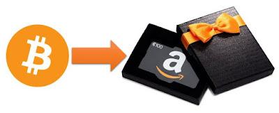 Comment acheter des cartes cadeaux Amazon avec des Bitcoins ?