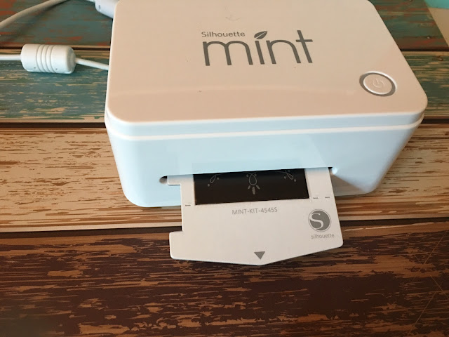 silhouette mint thermal printing, silhouette mint stamps