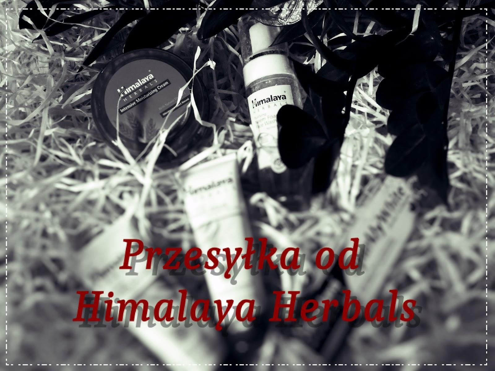 Himalaya Herbals - prezentacja kosmetyków.