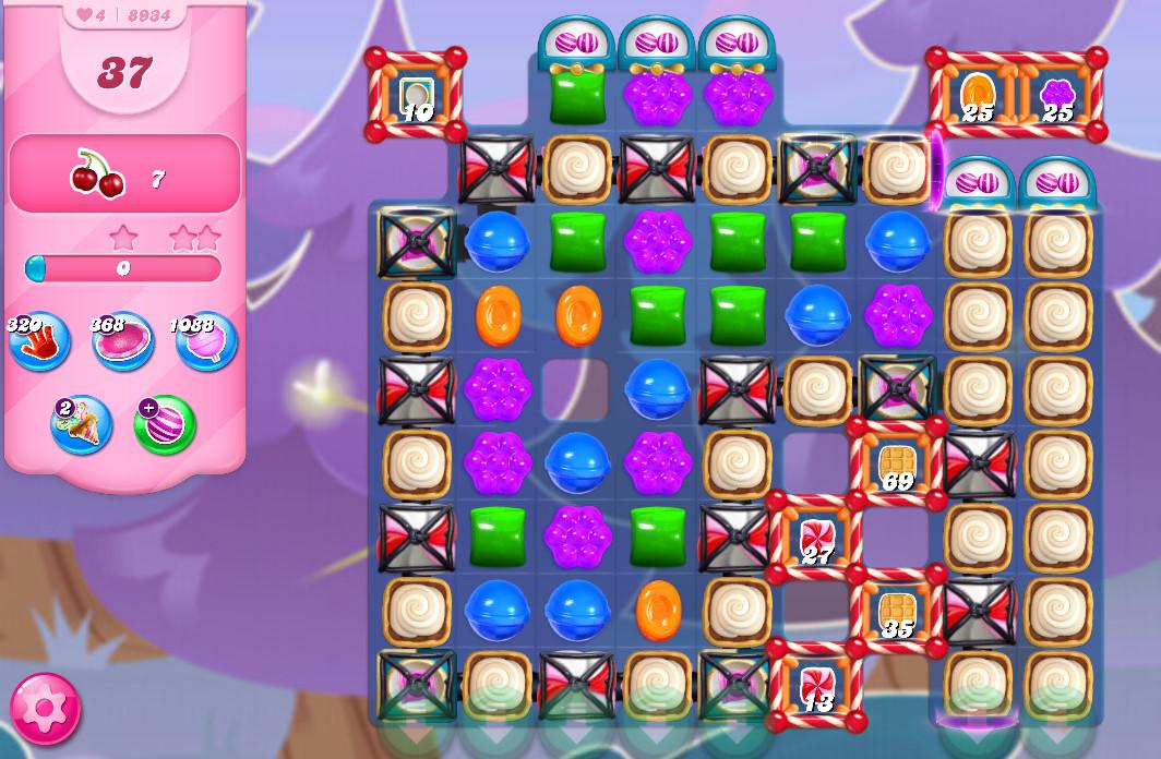 Candy Crush Saga level 8934