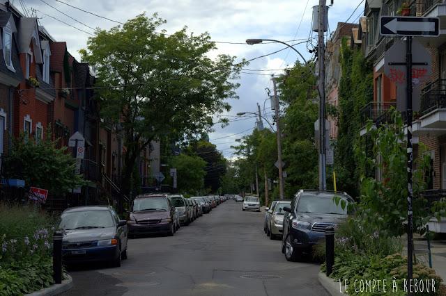 Visite de Montréal au Québec