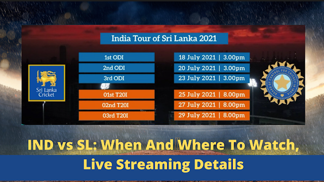 When And Where To Watch, Live Streaming Details