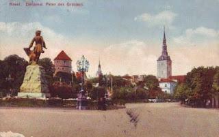 Statue de Pierre le Grand érigée en 1910
