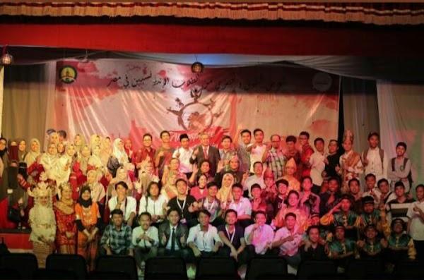 Puncak Atmosphere of Indonesia, Aula Hadiqoh Dauliah Dipenuhi Masisir dan Masyarakat  Mesir