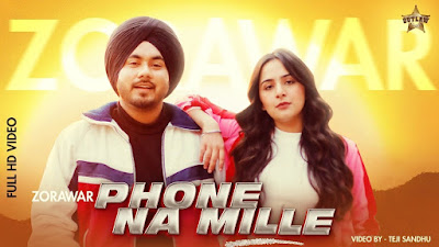 Phone Na Mille Lyrics - Zorawar