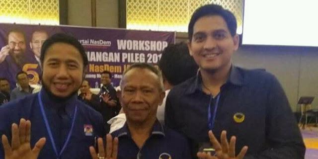 Tak Tahan Dengan PAN yang Dirasa Tak Se-Visi Artis Ganteng Lucky Hakim Akhirnya Berlabuh Ke NasDem...