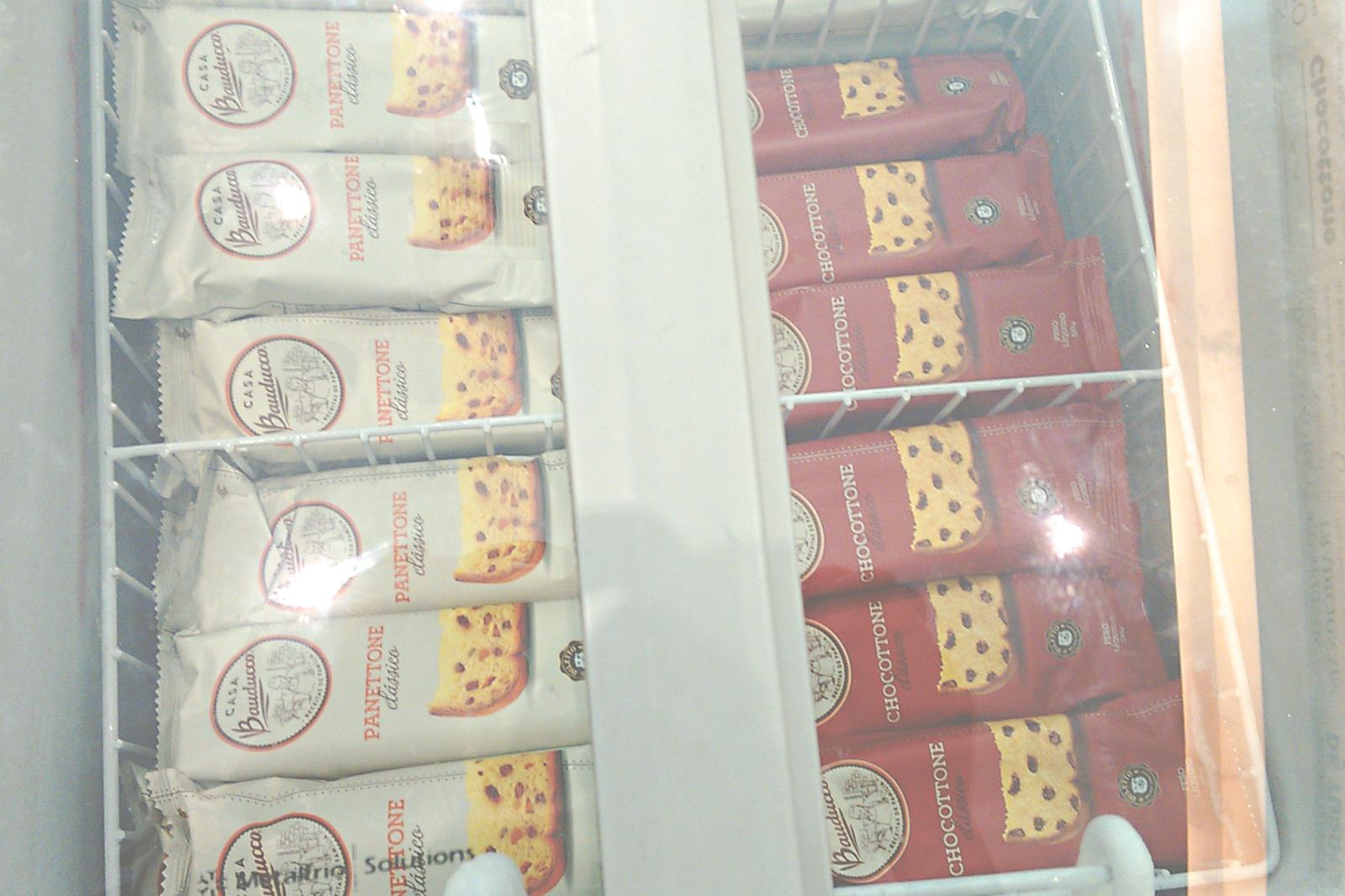 sorvete panetone casa bauducco