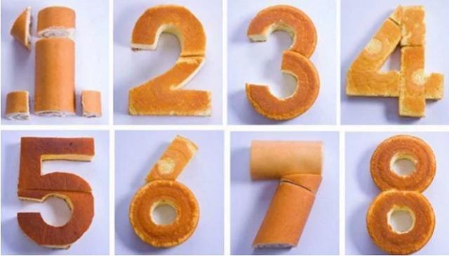 Δες πώς μπορείς να φτιάξεις τούρτες σε σχήμα αριθμών