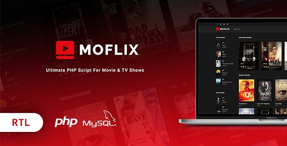 MoFlix php scriipt – Ultimate PHP Script For Movie & TV Shows