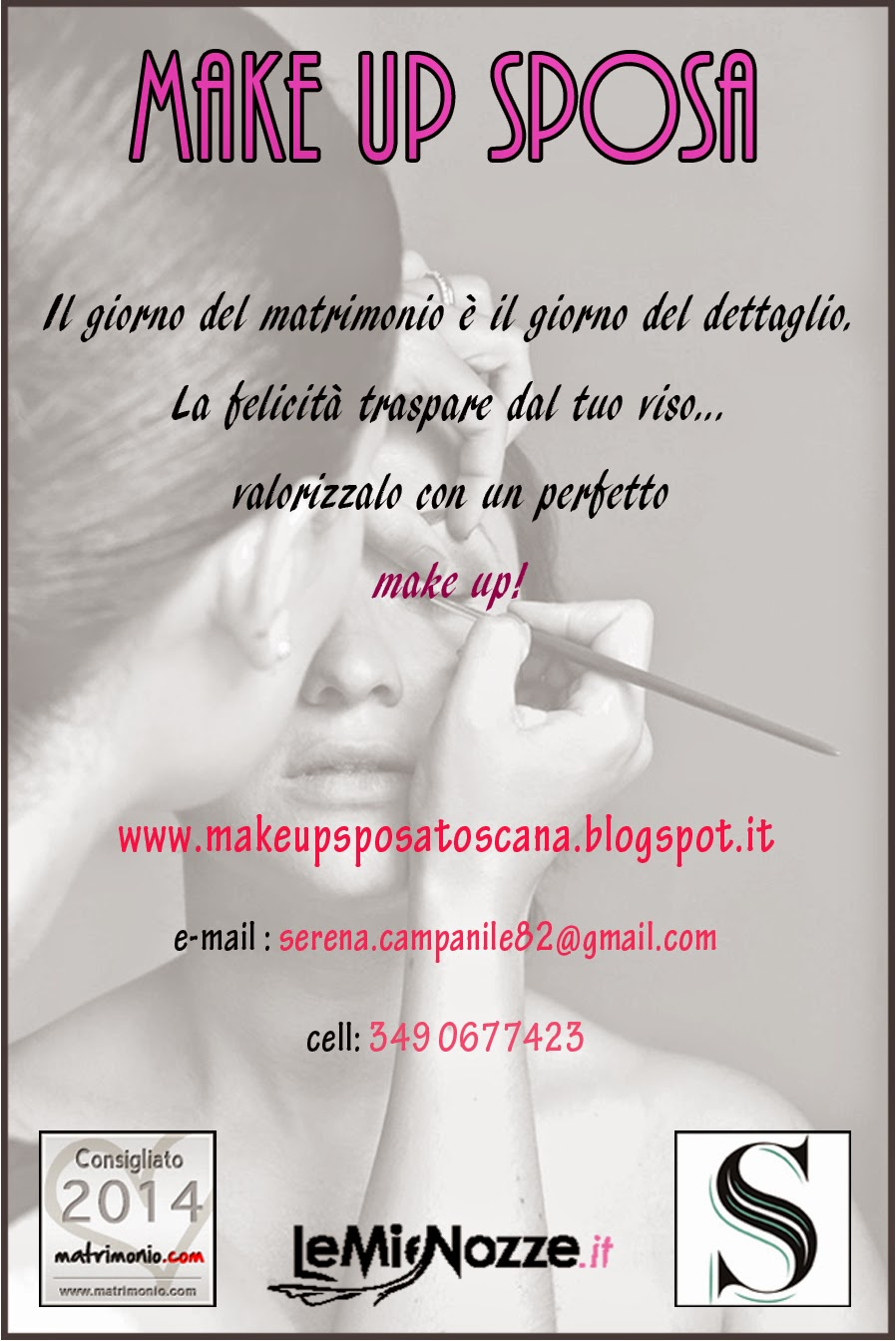 make up sposa toscana - serena campanile