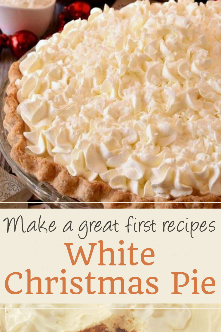 White Christmas Pie | Cake Recipes From Scratch, Cake Recipes Easy, Cake Recipes Pound, Cake Recipes Funfetti, Cake Recipes Vanilla, Cake Recipes Bundt, Cake Recipes Homemade, Cake Recipes Chocolate, Cake Recipes Birthday, Cake Recipes Box, Cake Recipes Coffee, Cake Recipes Dump, Cake Recipes Poke, Cake Recipes Sheet, Cake Recipes Healthy, Cake Recipes Strawberry, Cake Recipes Layer. #christmascake #christmaspie #christmasdesserts