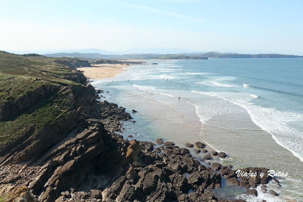 Playa de Conallave y Valdearenas, Cantabria