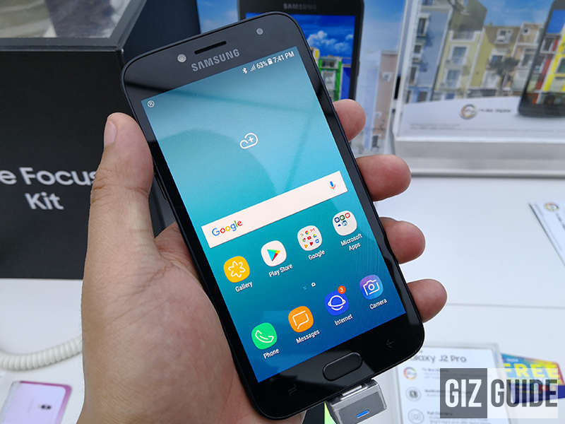 Samsung Galaxy J2 Pro (2018) is now in the Philippines, priced at PHP 7,490!