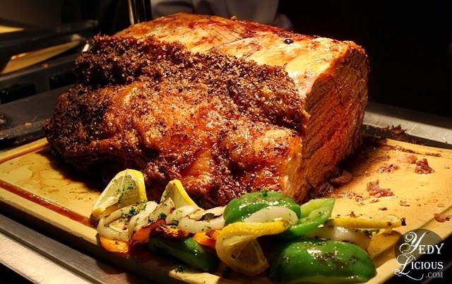 Ribeye at Oakroom Restaurant / Jazzy Sunday Brunch Buffet