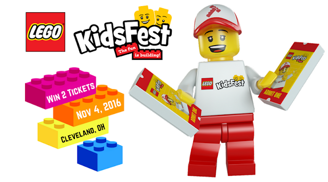 #LEGOKidsFest Returns to Cleveland in November! Win Tickets Now!