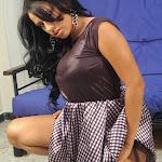 Andrea Rincon, Selena Spice Galeria 15: Vestido Cafe, Falda a Cuadros Foto 70