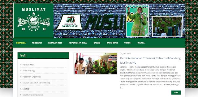 Nongkrong Berhadiah Tawaran Proyek Muslimat NU Jombang