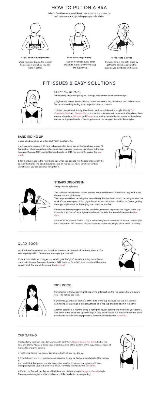 Thirdlove: bra-blems and fixes