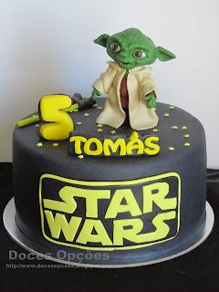 Bolo de aniversário Yoda Star Wars