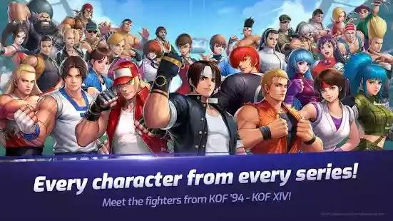 تبدأ الآن بطولة العثور على أفضل بطل قتال في العالم! The King of Fighters ALLSTAR