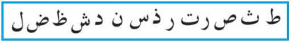 Huruf-Huruf Alif Lam Syamsiyah-Idghom Syamsiyah - 14 Huruf Alif Lam Syamsiyah