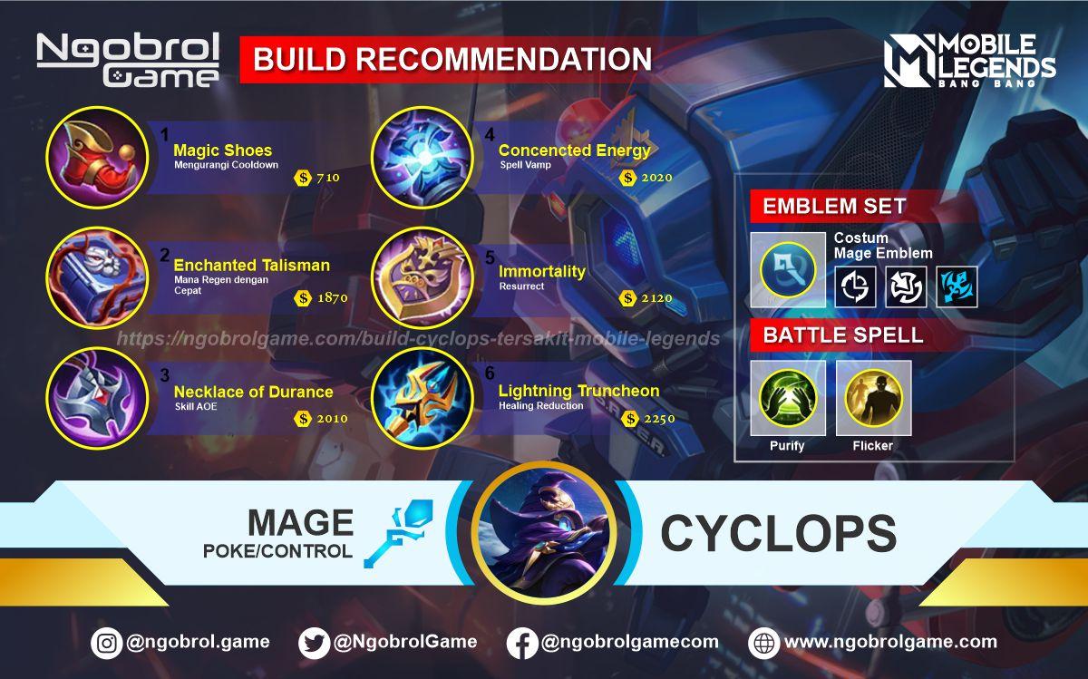 Build Cyclops Top Global Tersakit Mobile Legends