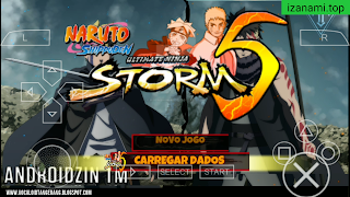 Télécharger Naruto Impact Mod | Naruto Storm 5 pour CSO | PPSSPP Android