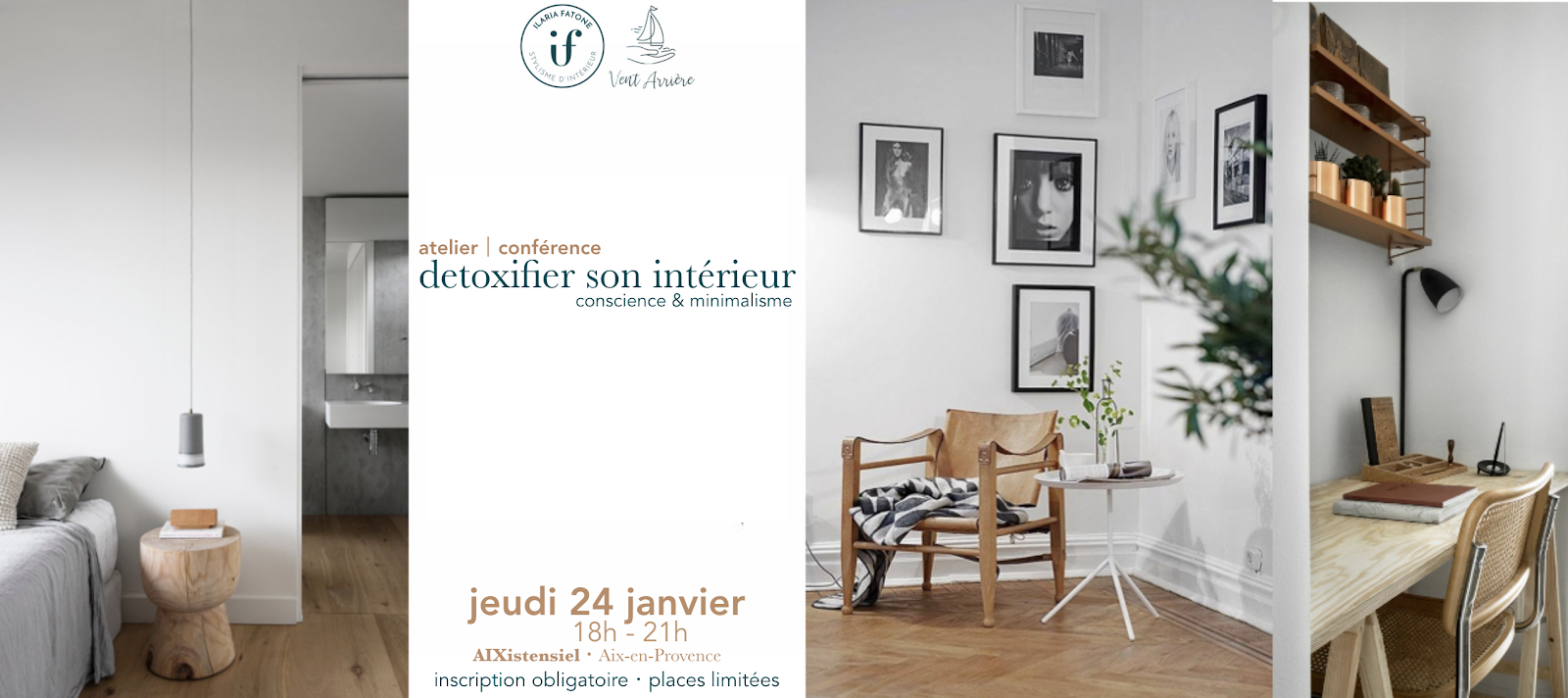 ilaria fatone - detoxier interieur - atelier conference - aix en provence