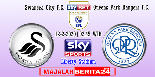 Prediksi Swansea City vs Queens Park Rangers — 12 Februari 2020