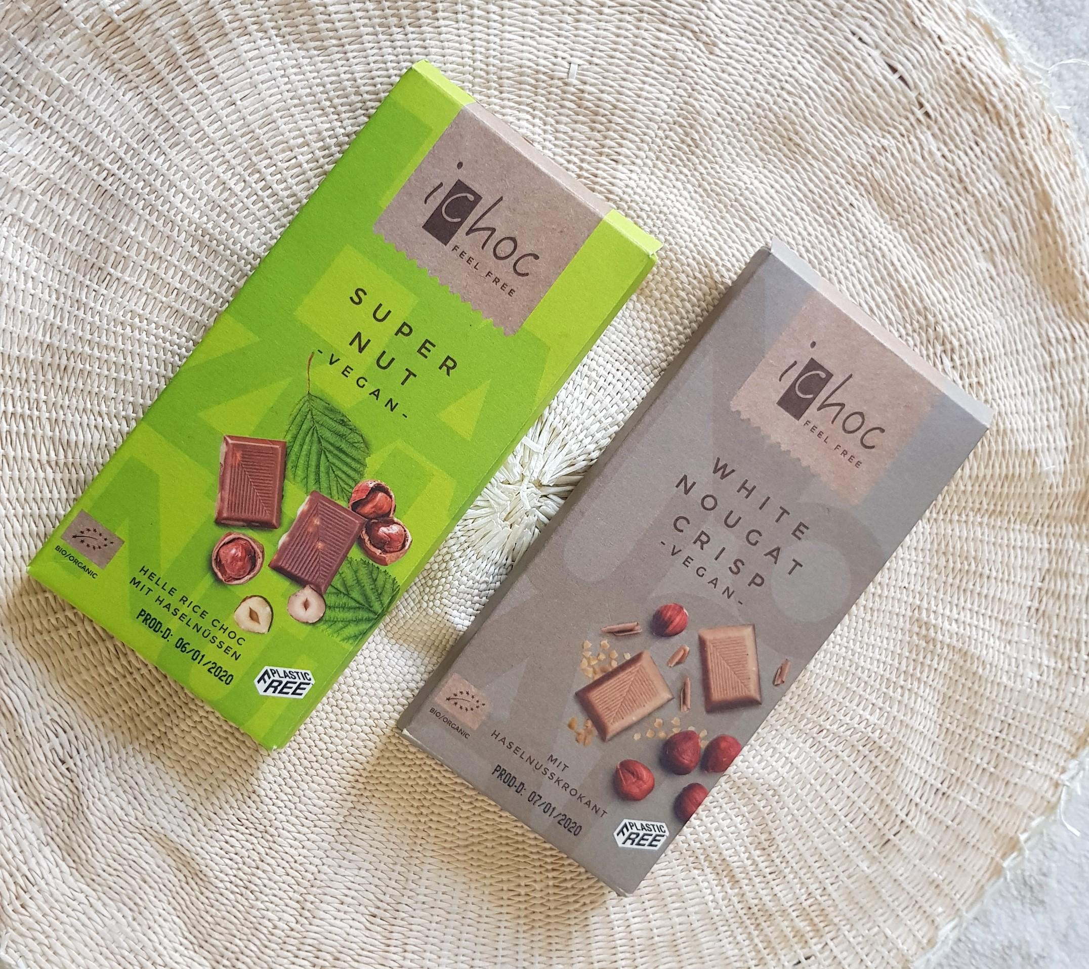 Best Vegan Milk Chocolate - Fairtrade Chocolates - iChoc Vegan Chocolates in Dubai