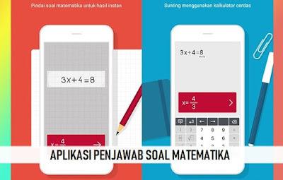 Aplikasi Jawaban Soal Matematika Terbaik Untuk Android